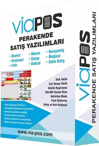 Viapos Market Barkod Satış Sistemi ve Programı Eko Paket (Dokunmatik Pos Pc + Hızlı Satış Programı + El Tipi 1d Barkod Okuyucu)