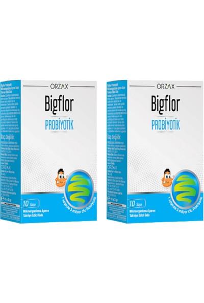 Orzax Bigflor Probiyotik 10 Saşe 2'li Set