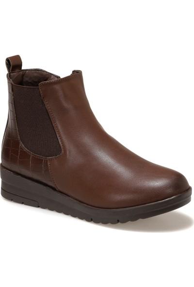 Polaris 161299.Z Kahverengi Kadın Comfort Ayakkabı