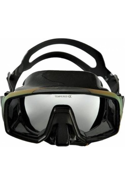 Apnea Ultra Silicone Maske Kamuflaj