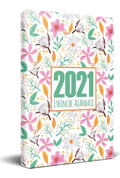 Halk Kitabevi 2021 Yaz Bahçesi Akademik Ajanda 13,5 x 21 cm