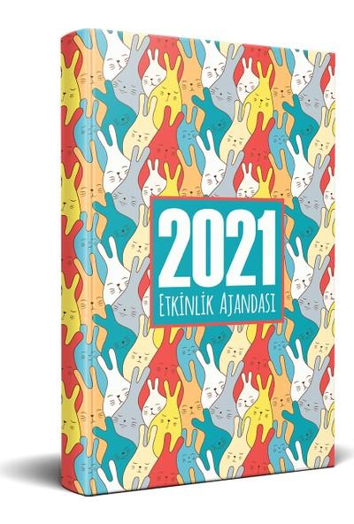 Halk Kitabevi 2021 Neşe Dünyası Akademik Ajanda 13,5 x 21 cm