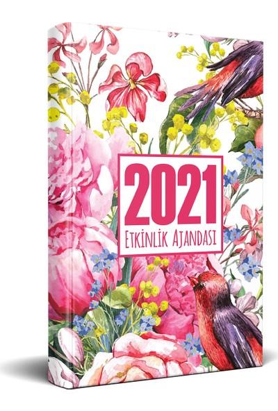 Halk Kitabevi 2021 Gül Bahçesi Akademik Ajanda 13,5 x 21 cm