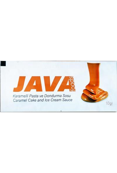 Java Foods Tek Kullanımlık Karamelli Pasta ve Dondurma Sosu 10gr x 50'li