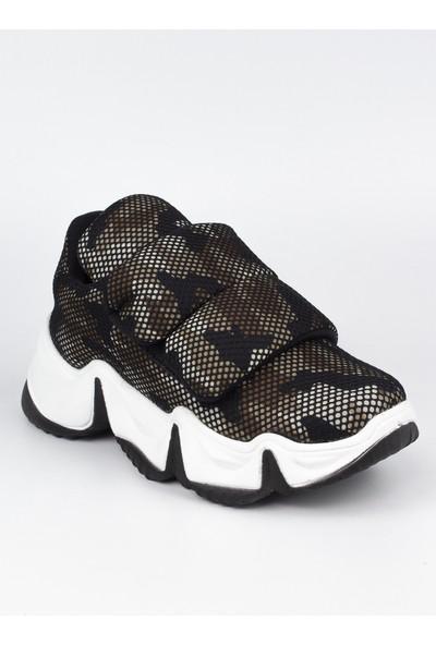 Marine Shoes Kadın Kahverengi Spor Ayakkabı