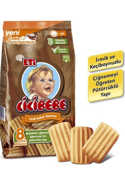 Eti Cicibebe Tahıllı Bebek Bisküvisi 172 g x 12 Adet