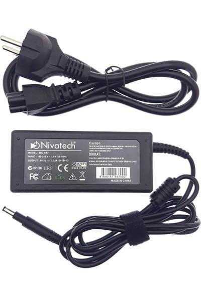 Nivatech Hp Notebook Uyumlu Laptop Adaptör 19.5V 3.33A (4.8*1.7mm) BC917
