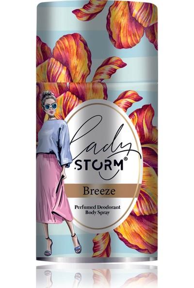Lady Storm Breeze 250 ml Kadın Deodorant