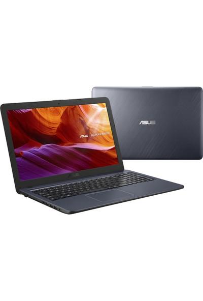 "Asus F543NA-GQ339T Intel Celeron 4GB 128GB SSD Windows 10 Home 15.6"" FHD Taşınabilir Bilgisayar"