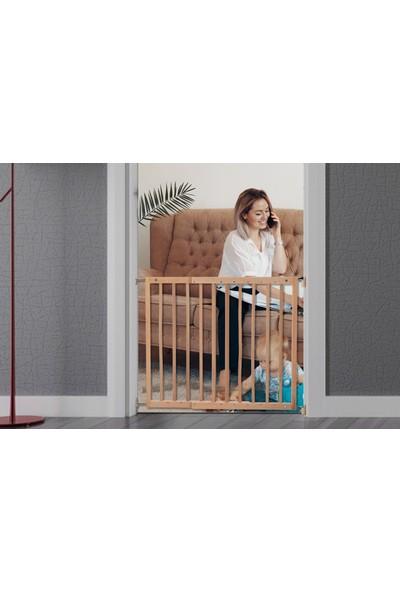 Tinycare Bebek Çocuk Ahşap Güvenlik Dubleks Merdiven Kapısı