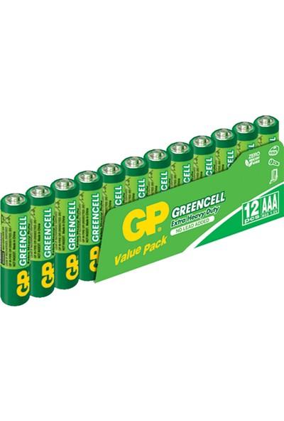 Gp Pil Paketi 24 Adet Pil 12'li Kalem + 12'li İnce AA R6, AAA R03