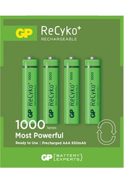Gp Recyko 4+4 2700 AA Serisi + 4'lü 1000 AAA Serisi Şarjlı Pil