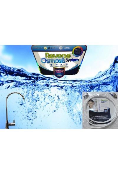 Pure 12 Aşamalı 10 lt Çelik Tanklı Su Arıtma Cihazı