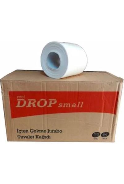 Drop Içten Çekme Jumbo Tuvalet Kağıdı 2 Katlı x 12 Rulo