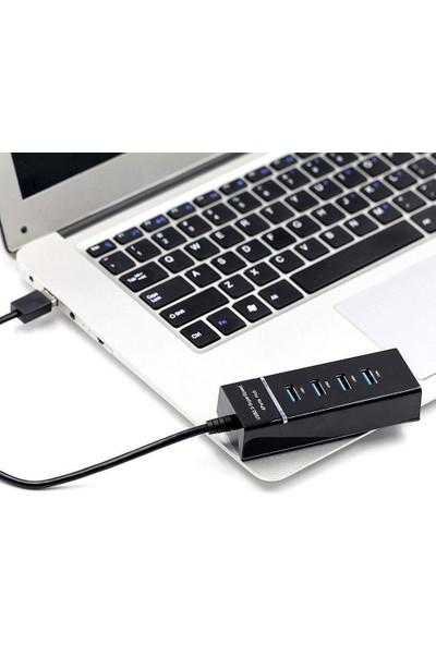 Mobitell 4x USB 3.0 Siyah USB Çoklayıcı