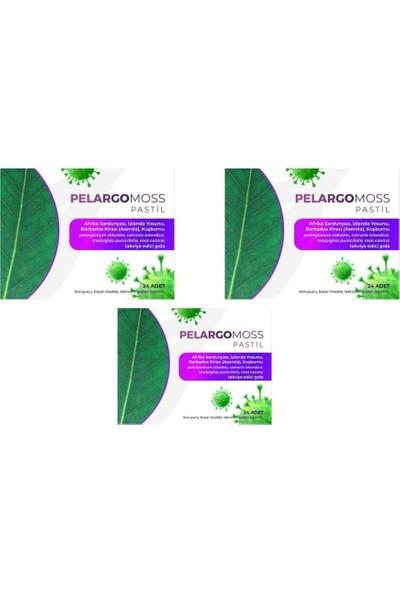 Pelargo Moss 24 Pastil 3 Adet