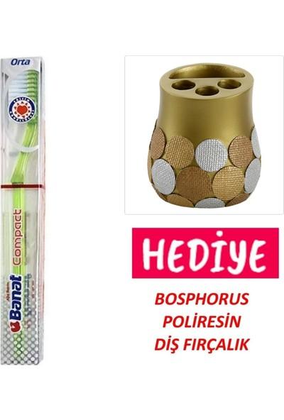 Banat Compact Diş Fırçası,poliresin Diş Fırçalık