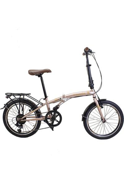 Ümit Cunda 20 6s 2034 Katlanır Bisiklet Rose-Gold - 100136