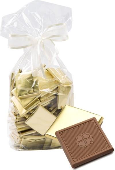 Melodi Çikolata Altın Sargılı Madlen Sütlü Çikolata 1000 gr