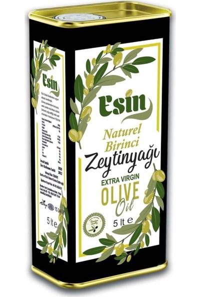 Esin Zeytin Natural Birinci Zeytinyağı Yeni Hasat 5 Lt