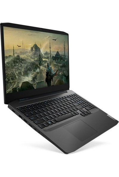 """Lenovo IdeaPad Gaming 3 AMD Ryzen 7 4800H 8GB 1TB + 256GB SSD GTX 1650Ti Freedos 15.6"""" FHD Taşınabilir Bilgisayar 82EY00CHTX08"""