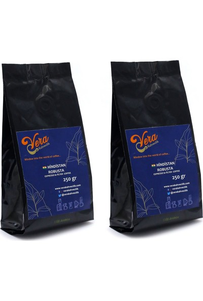 Hindistan Robusta Filtre Kahve French Press 500 gr
