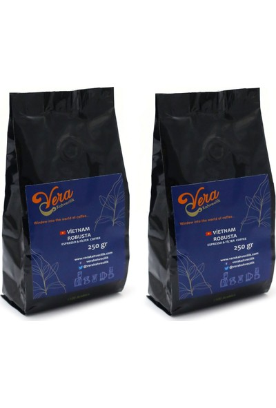 Vietnam Robusta Filtre Kahve French Press 500 gr