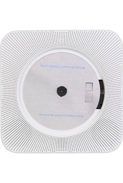 Retekess TR609 CD Çalar ile Fm Radyo Bt Hoparlör Mp3 (Yurt Dışından)