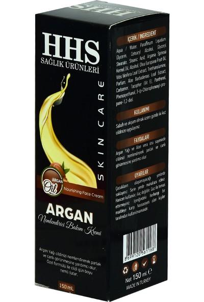 HHS Argan Yağlı Nemlendirici El Yüz ve Vücut Bakım Kremi 150 ml