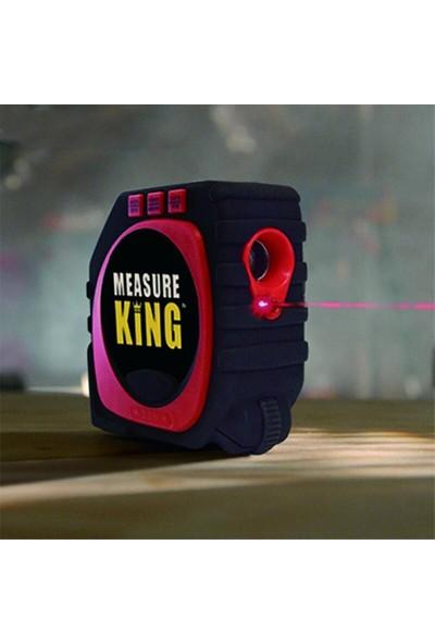 Measure King Lazerli ve Terazili Şerit Metre