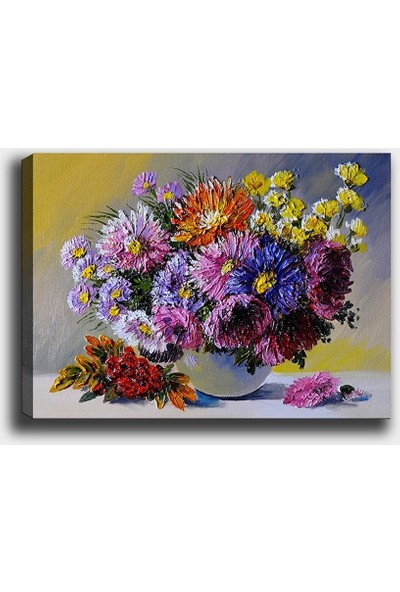 Syronix Çiçek Kanvas Tablo