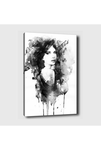 Syronix Dekoratif Bayan Kanvas Tablo