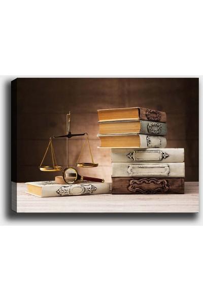 Syronix Kitaplar Kanvas Tablo