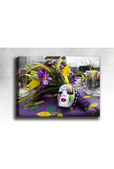 Syronix Maske Kanvas tablo