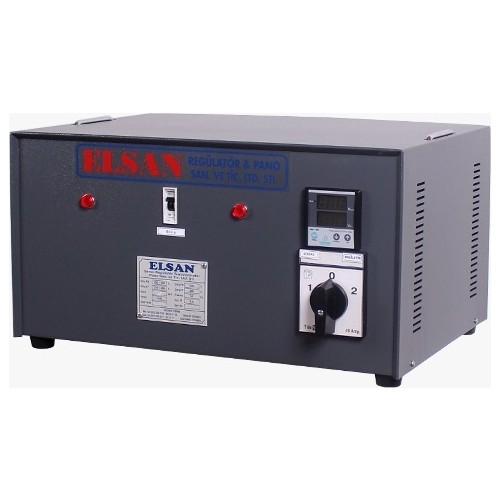 elsan 1 kva servo monofaze voltaj regulatoru 150 250v
