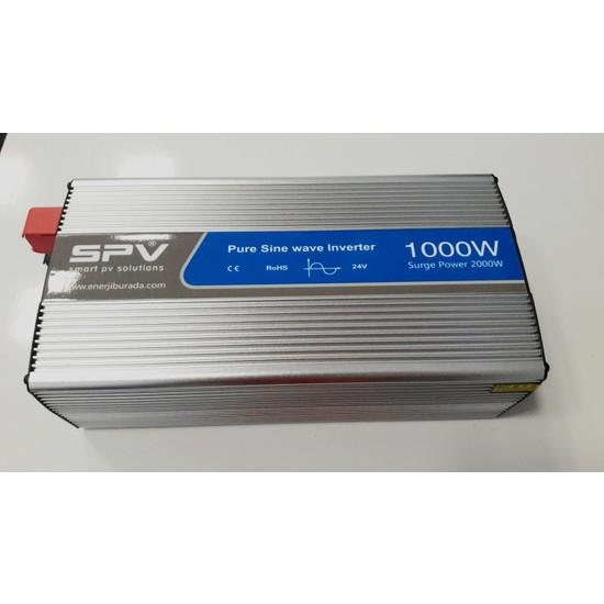 Spv 1000 Watt 24 Volt Tam Sinüs Inverter