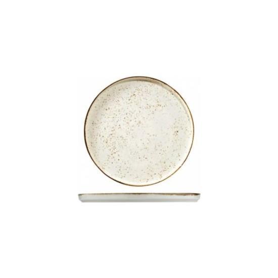 Kütahya Porselen Atlantis Rot 20 cm. Düz Tabak Kremıle