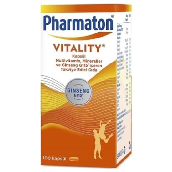 Pharmaton Vitality 100 Kapsül