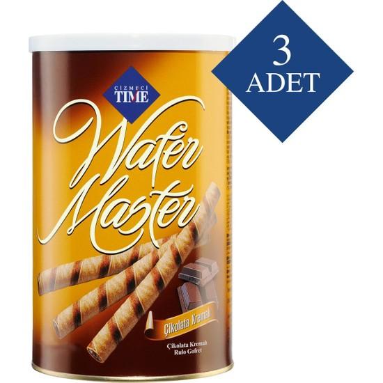 Çizmeci Time Wafer Master 120 gr Çikolatalı 3 'lü Paket