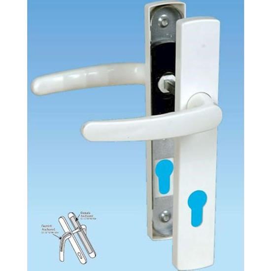 Pvc Pimapen Kapı Pencere Kolu Balkon Tuvalet Banyo Kapı Kolu Plastik Kapı Kolu
