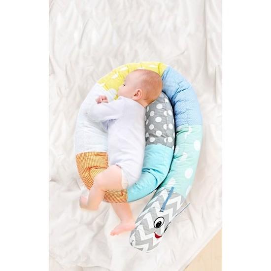 Babyjem Tırtıl Yastık Erkek
