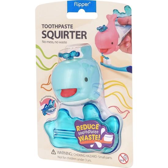 Flıpper Balina Diş Macunu Sıkacağı - Mavi