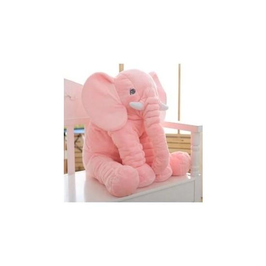 Ersu Uyku Arkadaşım Pembe Fil 65 cm