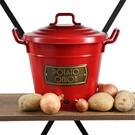The Mia TUR0045 Patates Soğan Saklama Kabı Kırmızı
