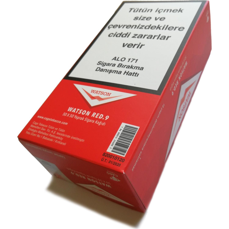 watson red tutun sarma sigara kagidi 50 adet 2500 yaprak