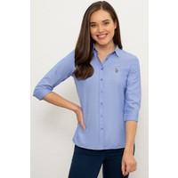 U.S. Polo Assn. Mavi Gömlek Uzunkol Basic 50225881-Vr032