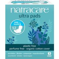 Natracare Ultra Kanatlı Ped Süper 12'li