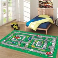 Nurteks Çocuk Odası Halısı Harita