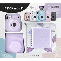Fujifilm Instax Mini 11 Kare Albümlü Lila Kit