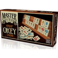 KS Games Master Ahşap Okey Takımı
